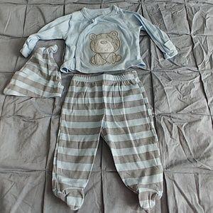 Newborn 3 piece outfit